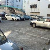 専用駐車場を設けてあります。